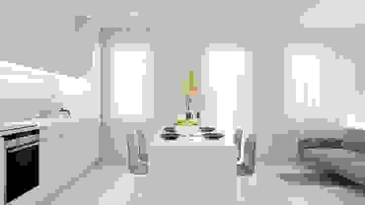 Minimalist dining room by NUKO STUDIO Minimalist