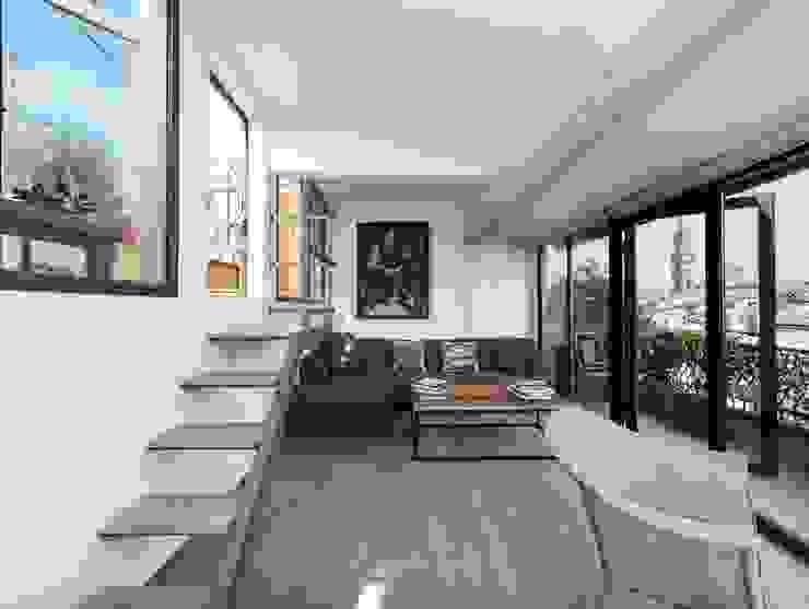 Ristrutturazione residenziale a Firenze Soggiorno moderno di de vita e fici architetti associati Moderno