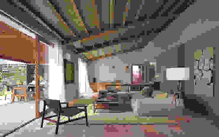 LUV Studio Mediterranean style living room