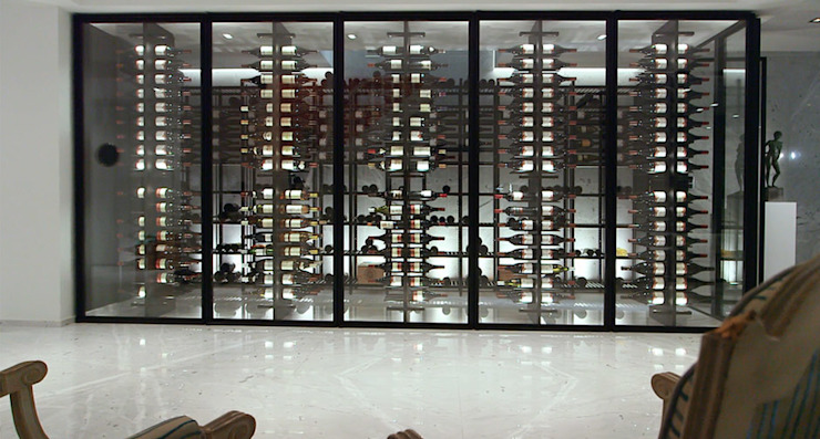 Degré 12 Wine cellar Iron/Steel