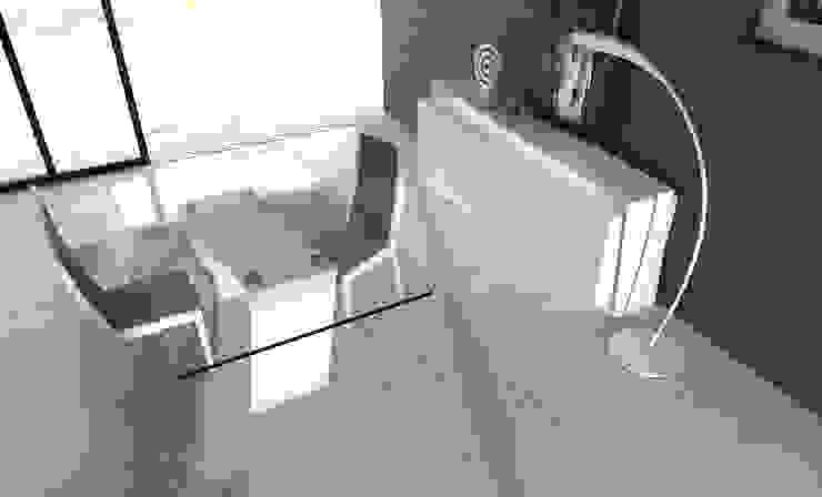 http://intense-mobiliario.com/pt/salas-de-jantar/4187-sala-de-jantar-regia.html por Intense mobiliário e interiores; Moderno