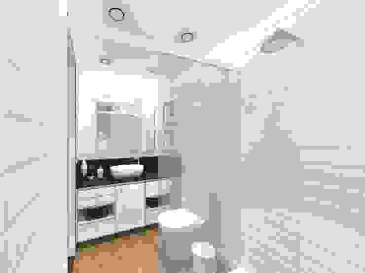 DC1002 | Dormitório da Internacionalista Banheiros modernos por homify Moderno