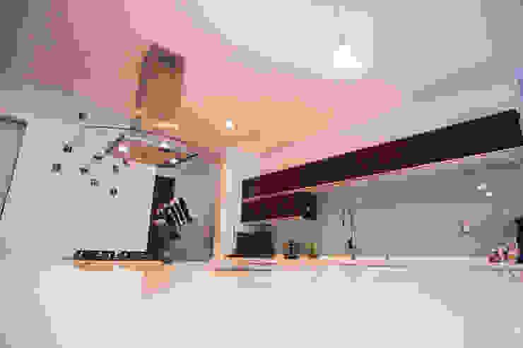 مطبخ تنفيذ AParquitectos , حداثي