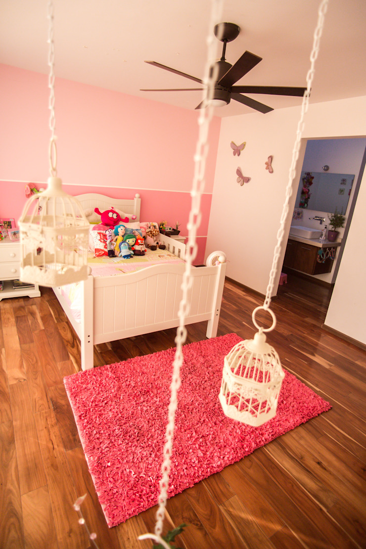Recámara niña Dormitorios infantiles modernos de AParquitectos Moderno