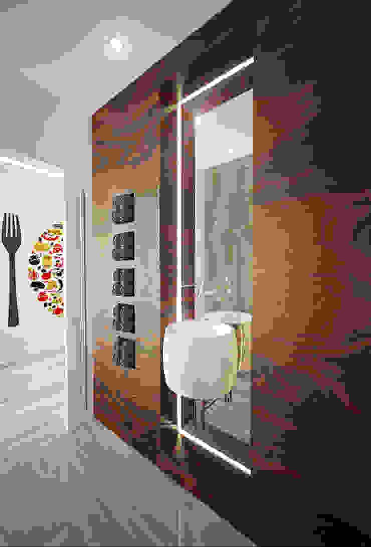W.C de Serviço Casas de banho modernas por Tiago Martins - 3D Moderno