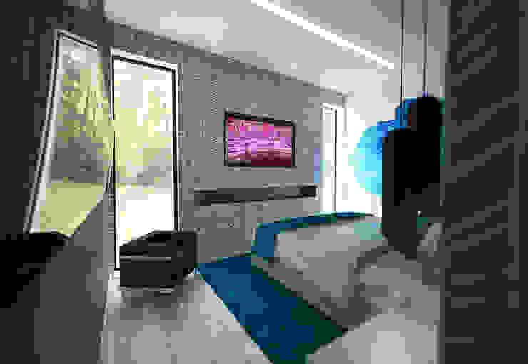 Suite Principal Quartos modernos por Tiago Martins - 3D Moderno