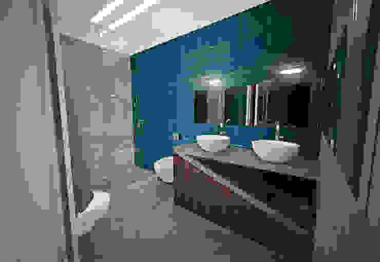 W.C Suite Principal Casas de banho modernas por Tiago Martins - 3D Moderno