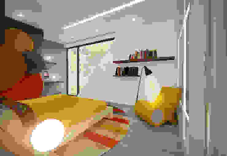 Suite 2 Quartos modernos por Tiago Martins - 3D Moderno