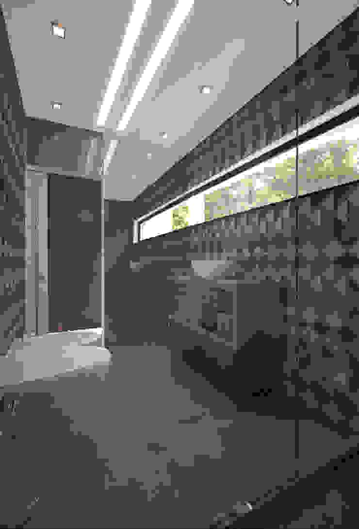 W.C Suite 3 Casas de banho modernas por Tiago Martins - 3D Moderno