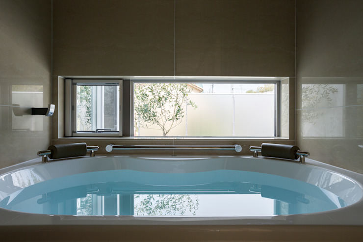 Mアーキテクツ|高級邸宅 豪邸 注文住宅 別荘建築 LUXURY HOUSES | M-architects Modern bathroom
