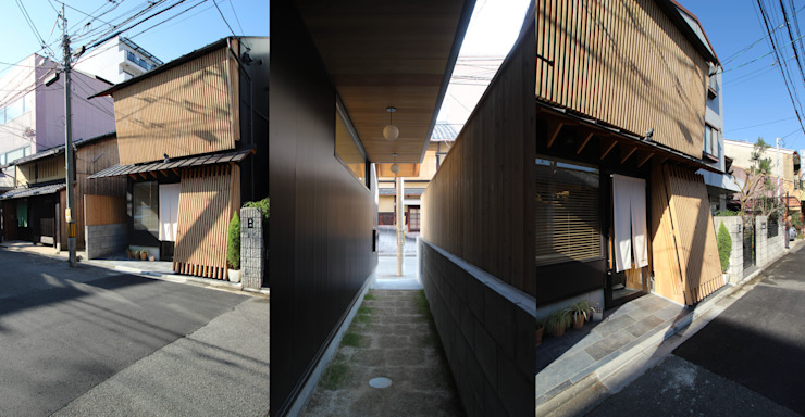 Eclectic style houses by ATS造家設計事務所 Eclectic Iron/Steel