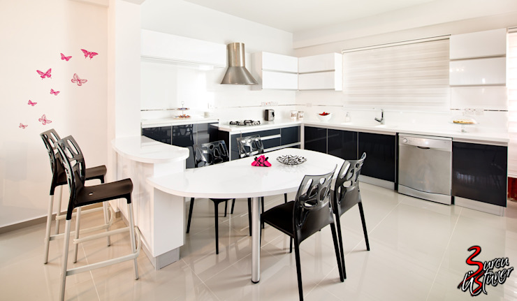 Şölen Üstüner İç mimarlık Modern Kitchen White