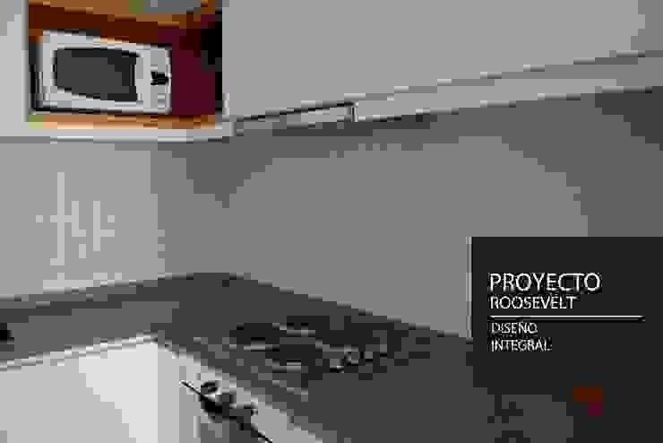 Nhà bếp phong cách tối giản bởi PANAL Tối giản