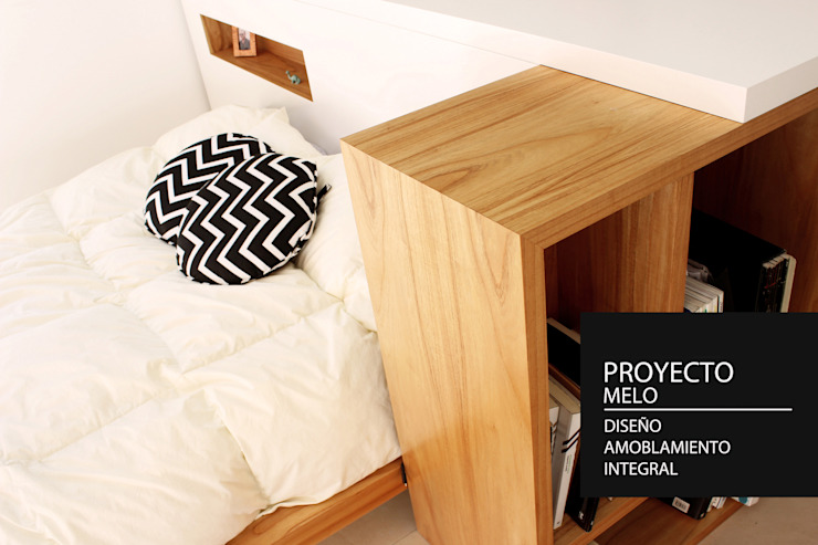 Modern style bedroom by PANAL Modern