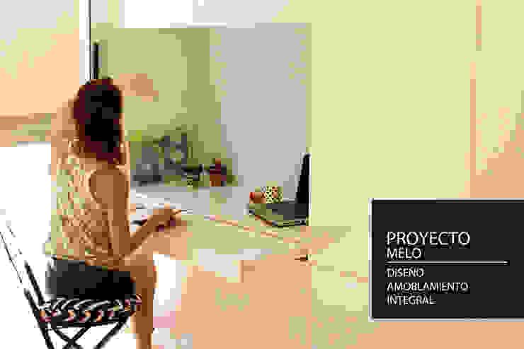PANAL Estudios y despachos de estilo moderno