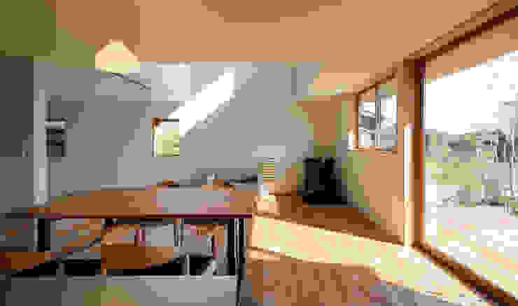 LDK モダンデザインの ダイニング の バウムスタイルアーキテクト一級建築士事務所 モダン