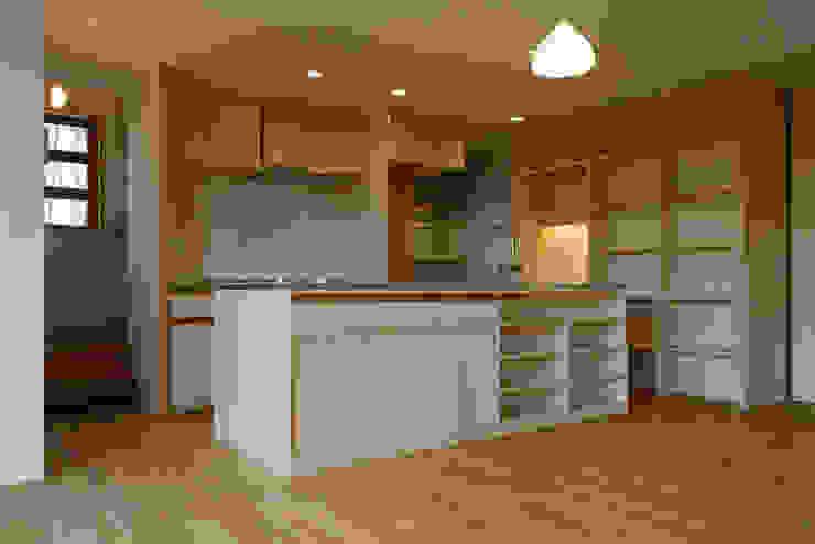 造付けキッチン モダンな キッチン の バウムスタイルアーキテクト一級建築士事務所 モダン