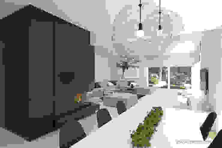 MIRAI STUDIO Living room Stone Black