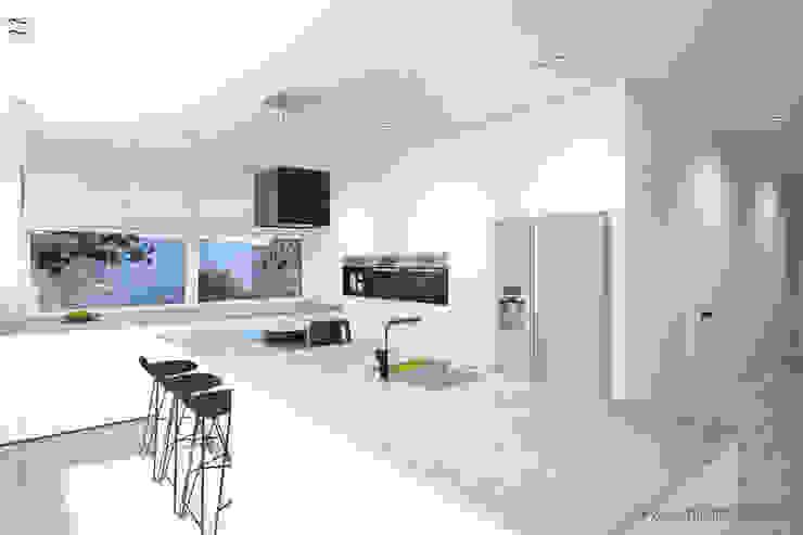 MIRAI STUDIO Kitchen Granite White