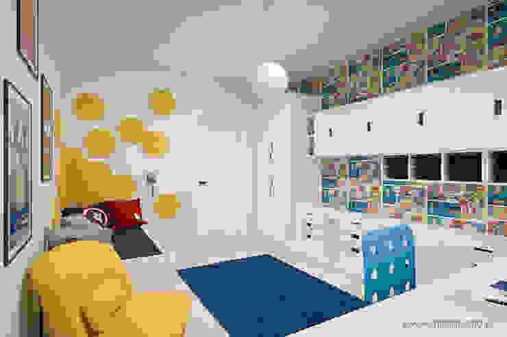 MIRAI STUDIO Nursery/kid's room Yellow