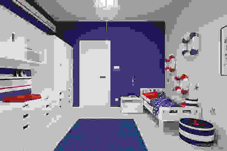 MIRAI STUDIO Nursery/kid's room Blue