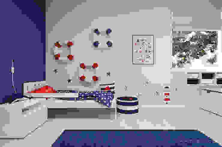 MIRAI STUDIO Nursery/kid's room Red
