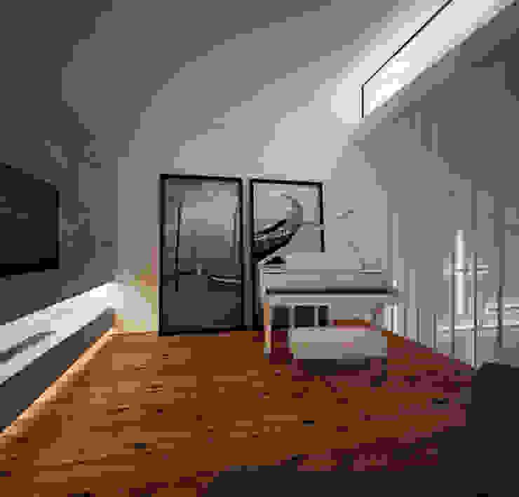 minimalist  by Arquitecto Aguiar, Minimalist Bamboo Green