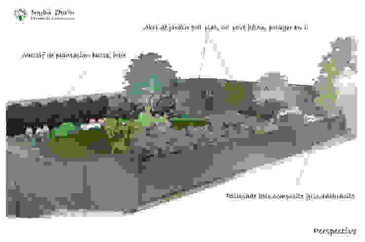 Jardines modernos de homify Moderno Compuestos de madera y plástico