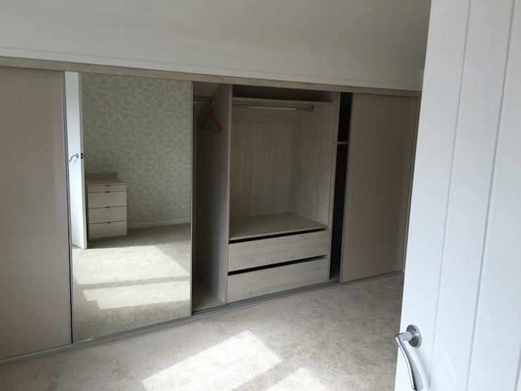 Mr Mrs M Peston Design 4 living UK Minimalist bedroom