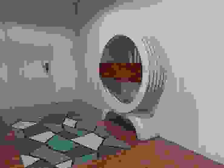Sala/Entrada Foz do Douro por Luís Mauro interiores Moderno