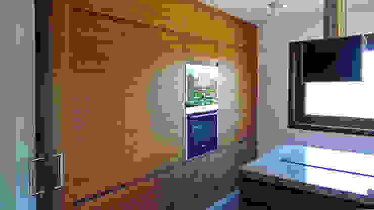 Cozinhas rústicas por AD+ arquitectura Rústico