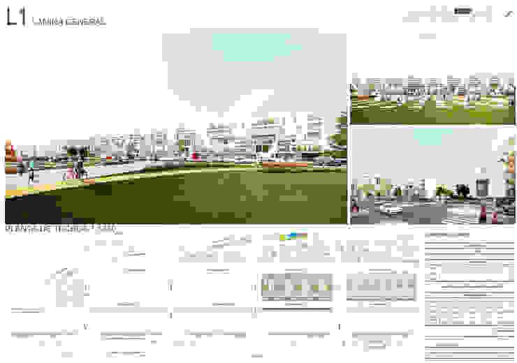L1 Casas modernas: Ideas, imágenes y decoración de 1.61 Arquitectos Moderno