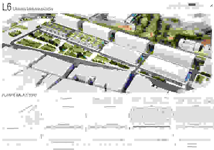 Tercer Premio CONCURSO N2 VIVIENDA SOCIAL VILLA 20 de 1.61 Arquitectos Moderno