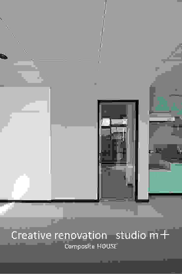 studio m+ by masato fujii Skandinavische Fenster & Türen