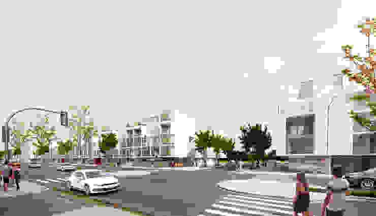 Tercer Premio CONCURSO N2 VIVIENDA SOCIAL VILLA 20 Casas modernas: Ideas, imágenes y decoración de 1.61 Arquitectos Moderno