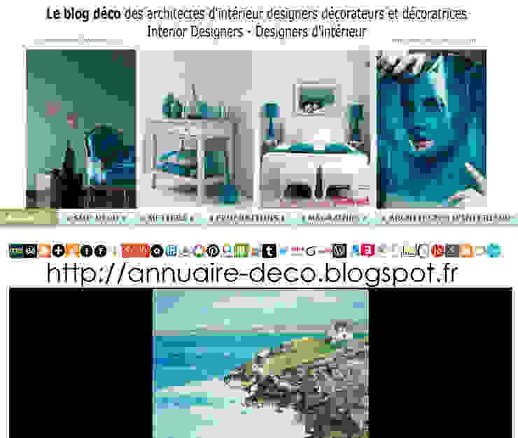 (( https://annuaire-deco.blogspot.com )) Chambre scandinave par Bruno Tascon Graphiste infographiste tirage d'art Scandinave Métal