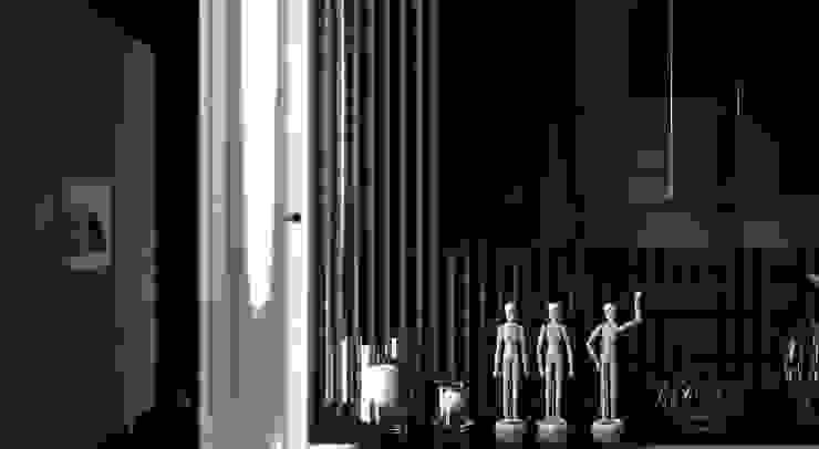GN İÇ MİMARLIK OFİSİ – Koridor: modern tarz , Modern Granit
