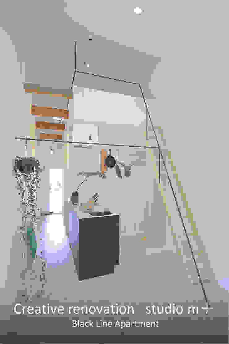 studio m+ by masato fujii Modern Walls and Floors