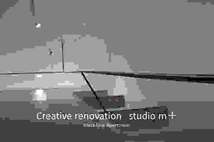 studio m+ by masato fujii Modern Bedroom