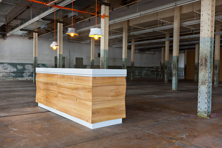 In geschlossener Form wie ein Möbel! Schreinerei Haas Mathias KücheSchränke und Regale