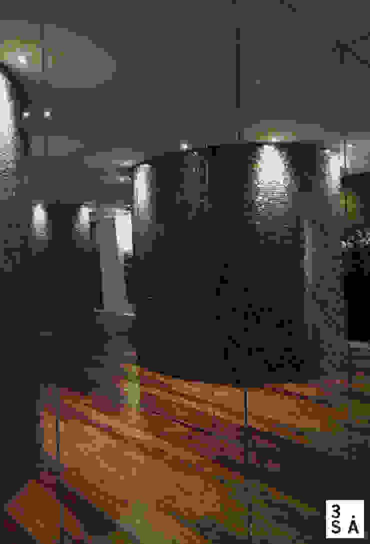 02JN - SPA Spa moderno por 3.SA Moderno Madeira Acabamento em madeira