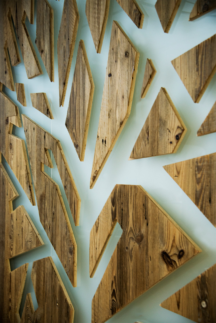 Livings de estilo rústico de RI-NOVO Rústico Madera Acabado en madera