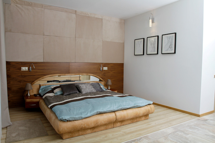 Modern style bedroom by in2home Modern Wood Wood effect