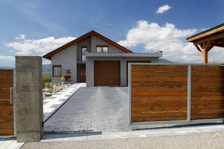 in2home Modern houses Stone Grey