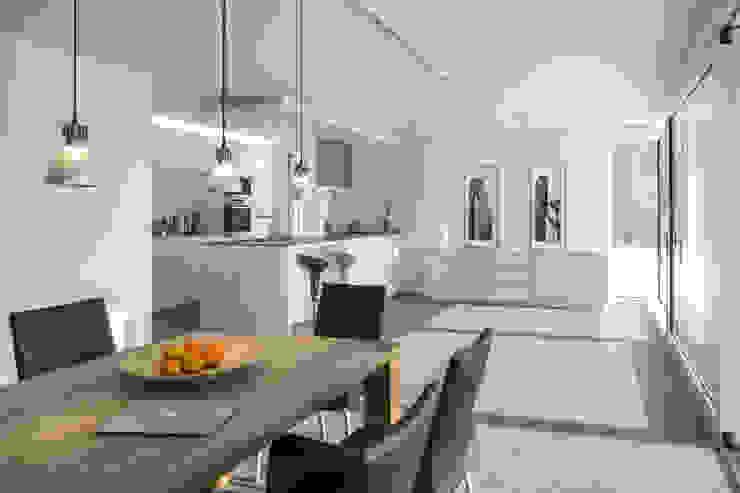 Essen / Küche gerken.architekten+ingenieure Moderne Esszimmer