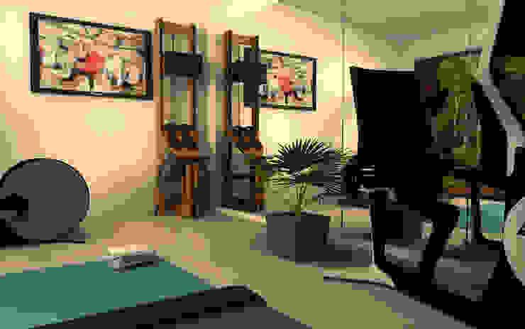 Moderner Fitnessraum von Athletica Design Modern