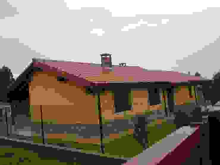 Rustikale Häuser von MODULAR HOME Rustikal