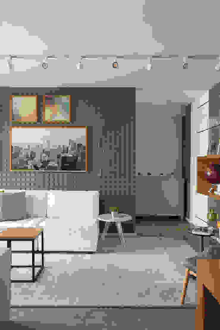 SESSO & DALANEZI Living room Grey