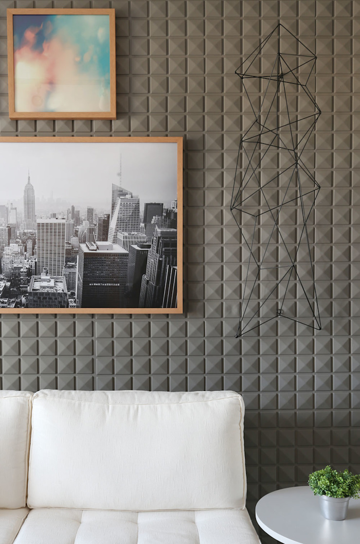 SESSO & DALANEZI Living roomAccessories & decoration Grey
