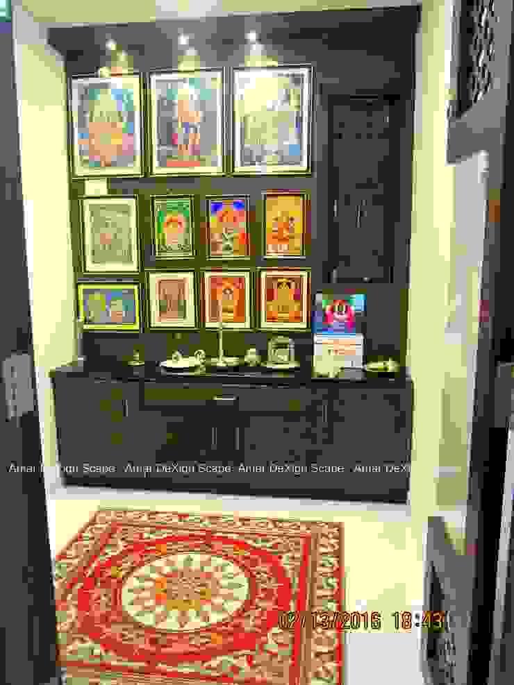 Pooja Room Minimalist living room by Amar DeXign Scape Minimalist